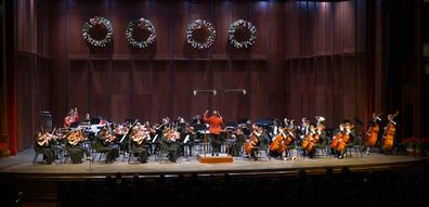Holiday Concert, Symphony, Aaron King Va
