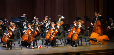 Holiday Concert, Symphony, cellos.png