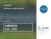 Airsens Approved Trainer Certificate (1)