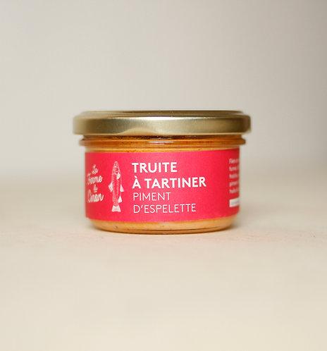TRUITE À TARTINER Piment d'espelette