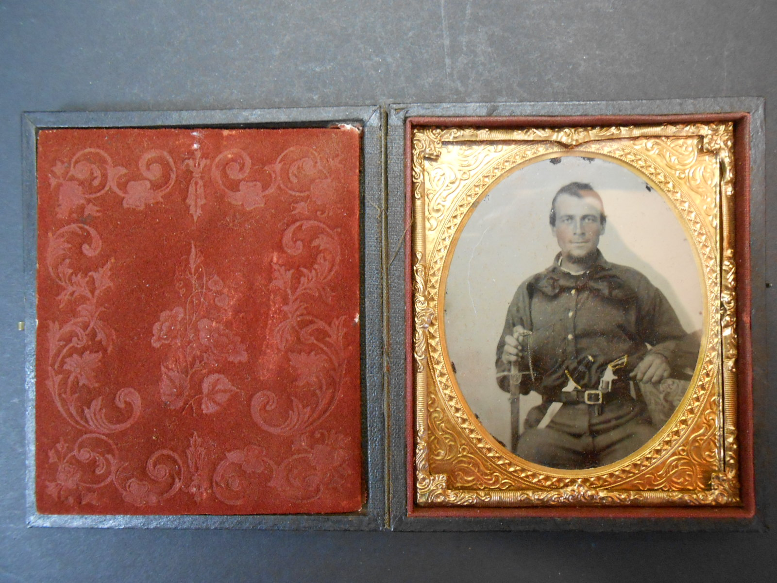 Civil War soldier (PA) tin-type