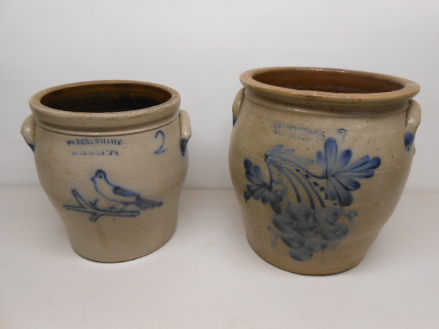 Cowden and Wilcox crocks