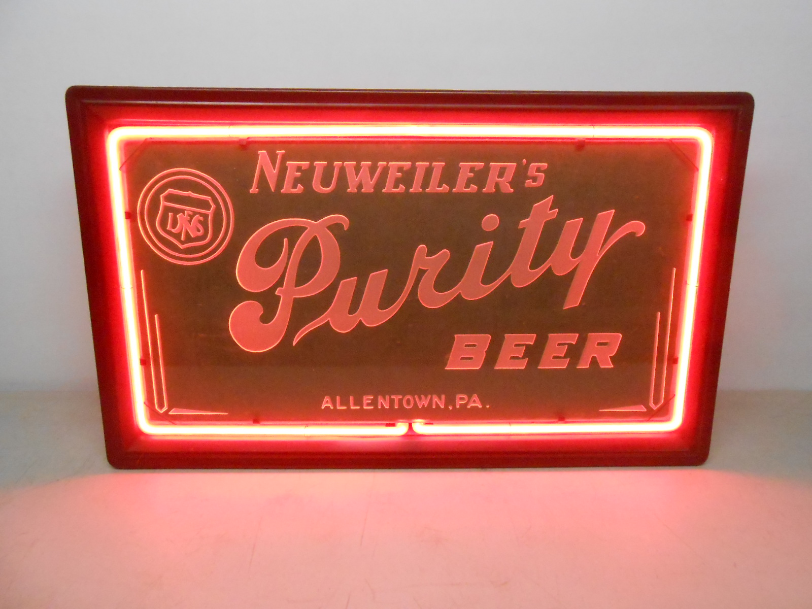 Neuweiler Purity Beer Sign