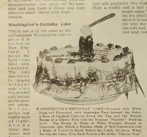 Washington's-Birthday Cake