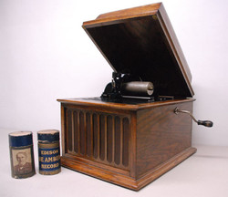 Edison cylinder player