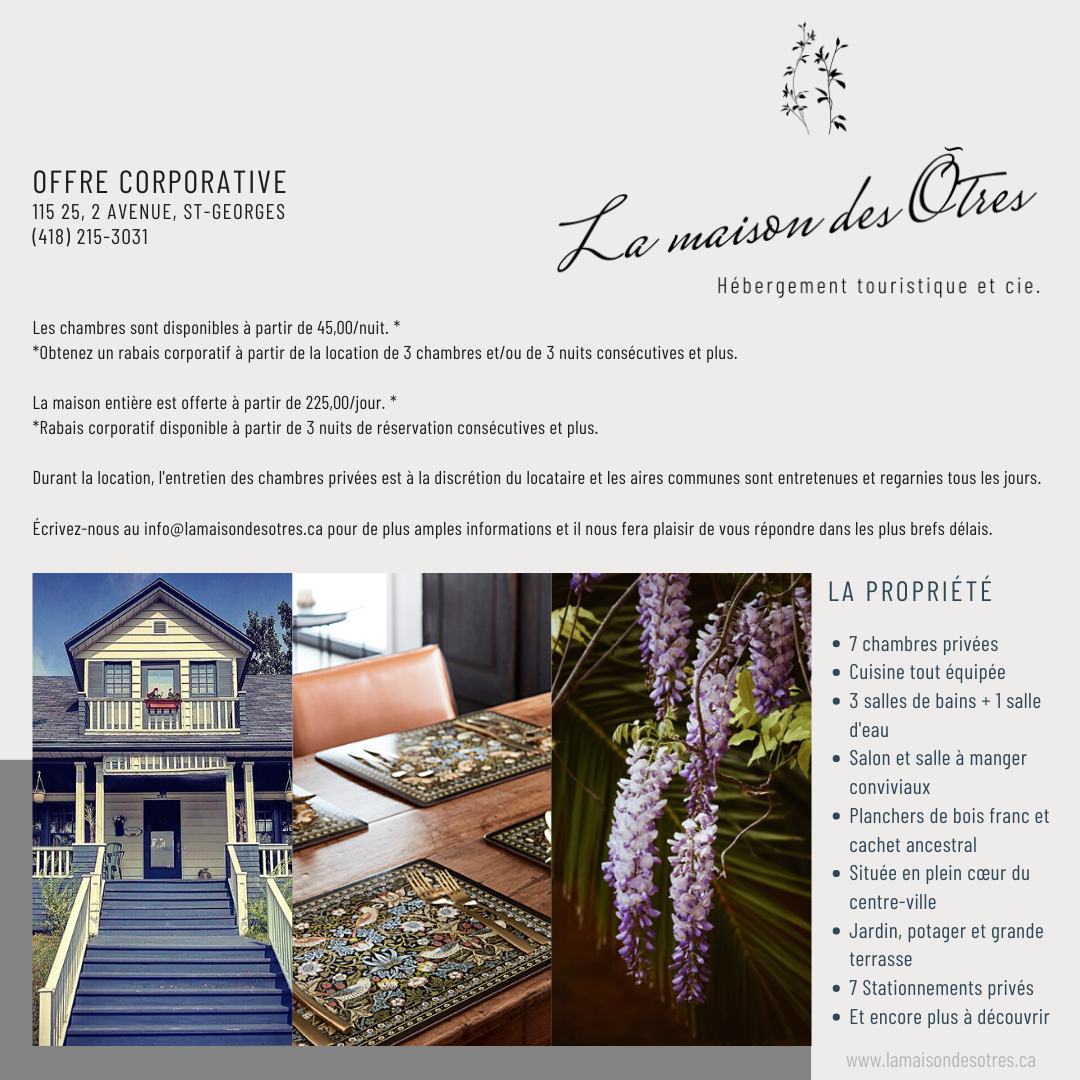 Offre corporative