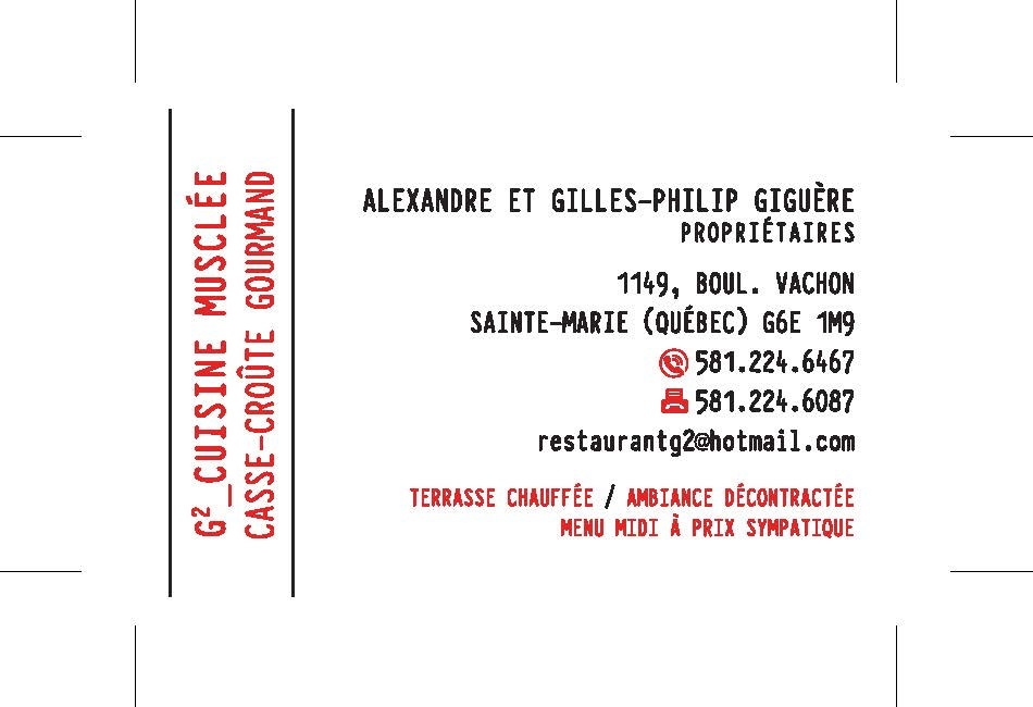 Carte d'affaire