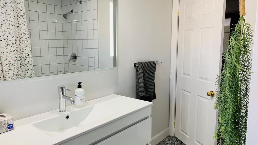Une salle de bain d'inspiration provençale