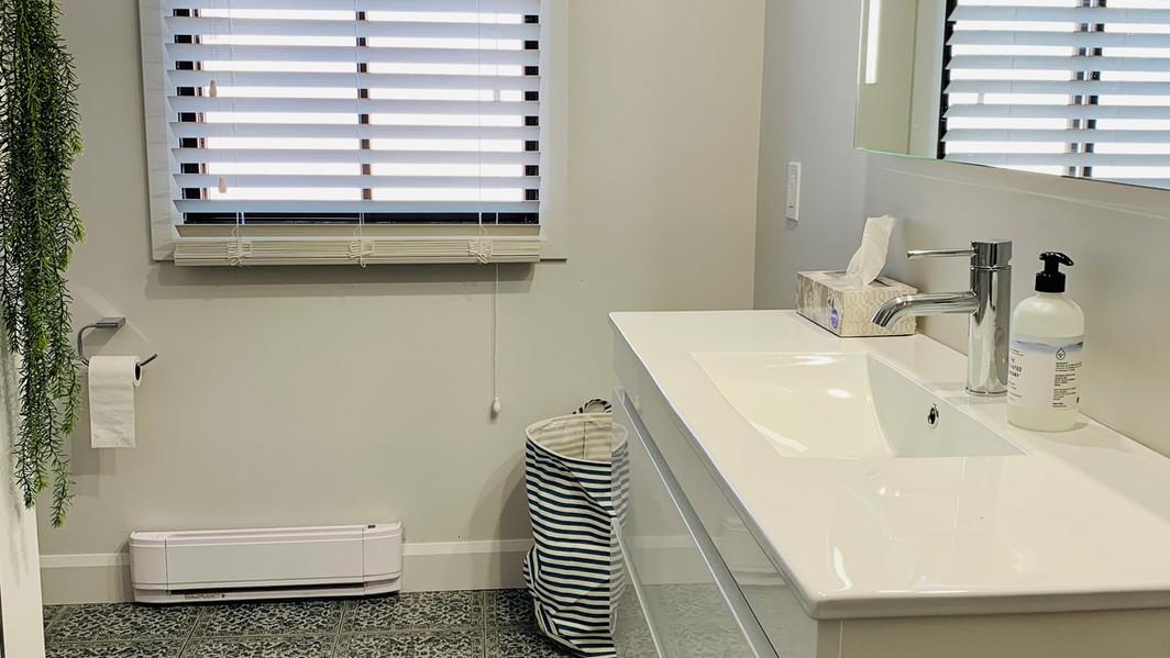 Une salle de bain aux allures de Provence