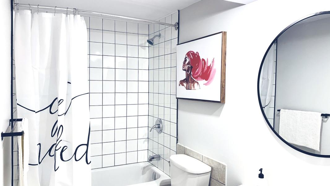 Salle de bain fraicheur