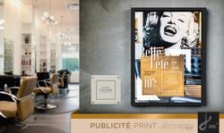Création d'affiche publicitaire