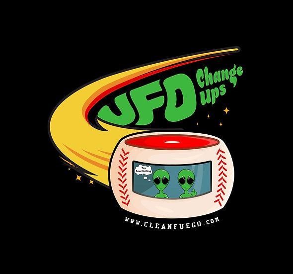 """CleanFuego Sticker """"UFO Change-up"""""""