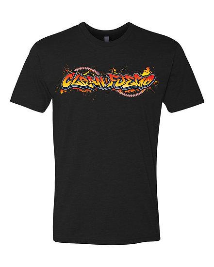 YOUTH T-shirt - CleanFuego Graffiti Logo