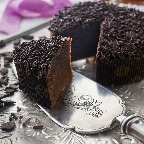 Szénhidrátcsökkentett Csupa Csoki Torta