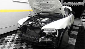 rolls royce wraiths car wrap miami first class autosports