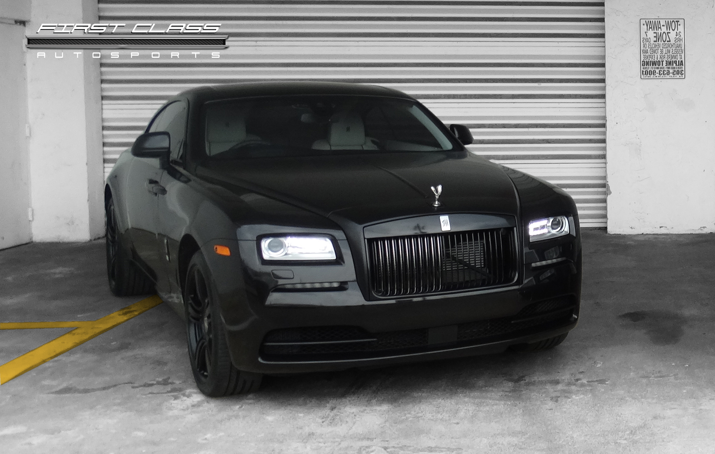 Rolls Royce Wraith Gets Its New Look At First Class Autosports