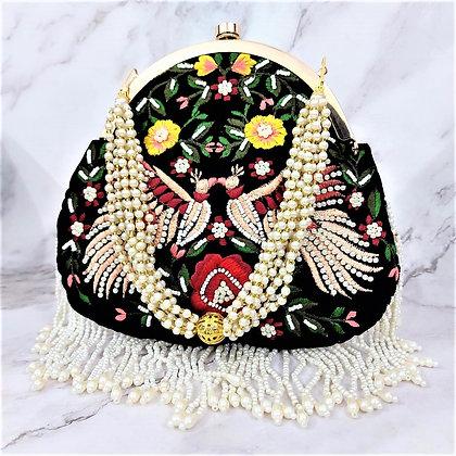 Embroidered Cascadia Handbag