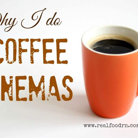 Why I love coffee enemas and all their benefits.
