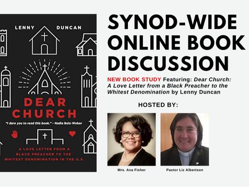 Final - ONLINE - Book Discussion of Dear Church