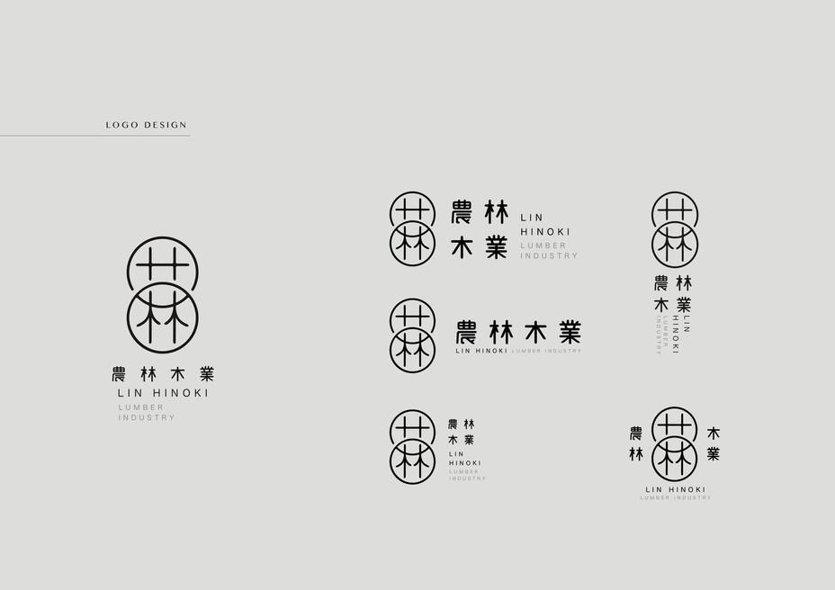 農林商標設計 Logo Design Applicationn