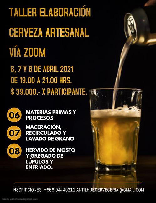 Curso de Elaboración de Cerveza Online