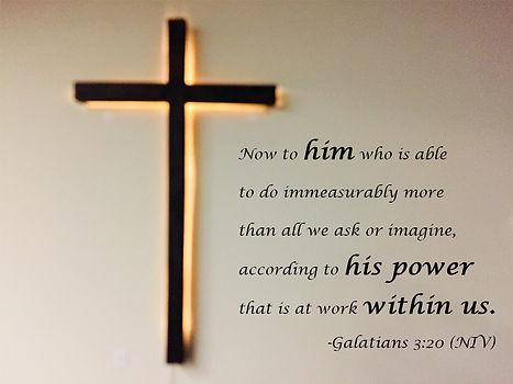 Cross, Galatians 3:20