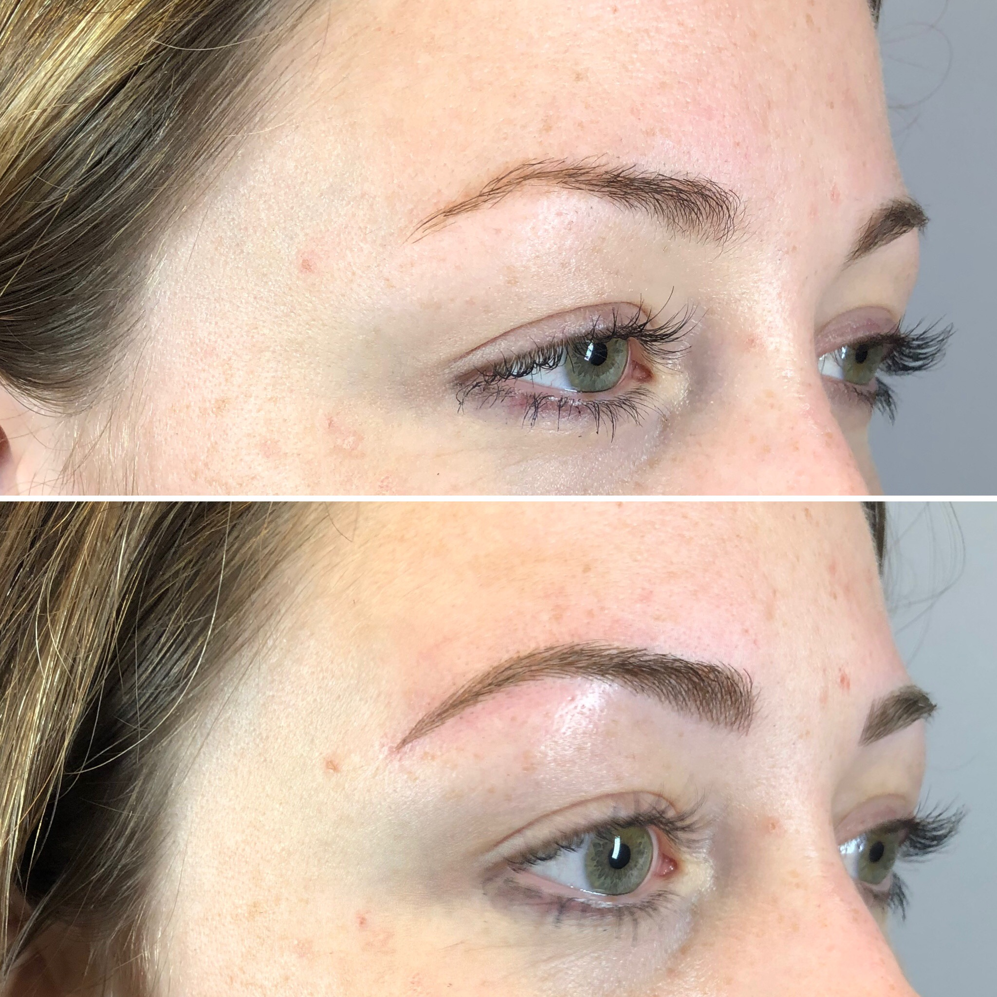 Before and After Microblading