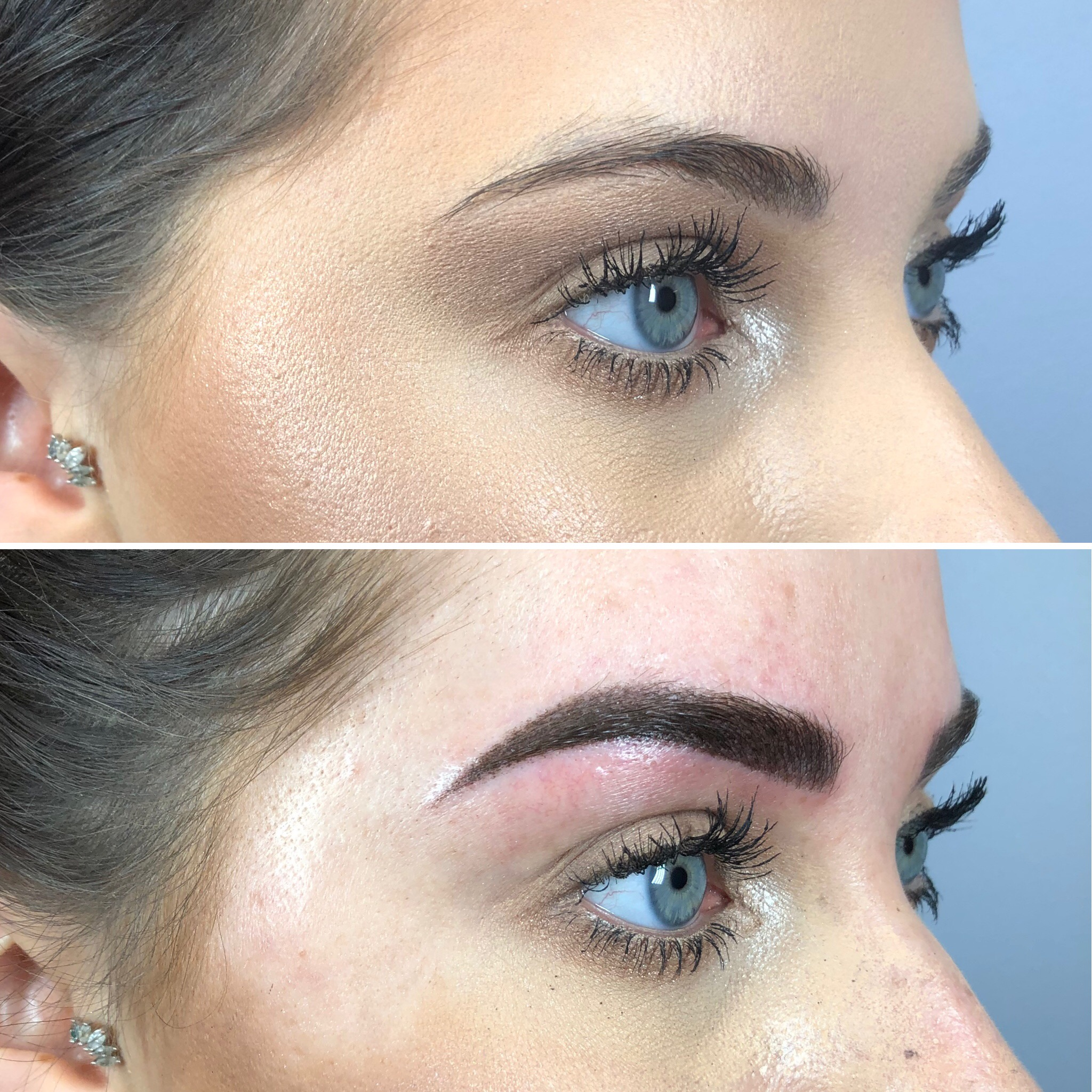 After Signature Shaded Brow