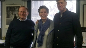 Linda Visits the Guinot Offices in NYC