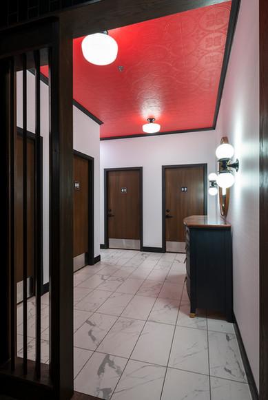 Freddys washroom design