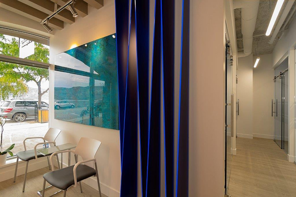 Realty office interior
