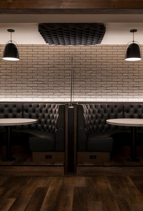 Brew Pub Booth Design