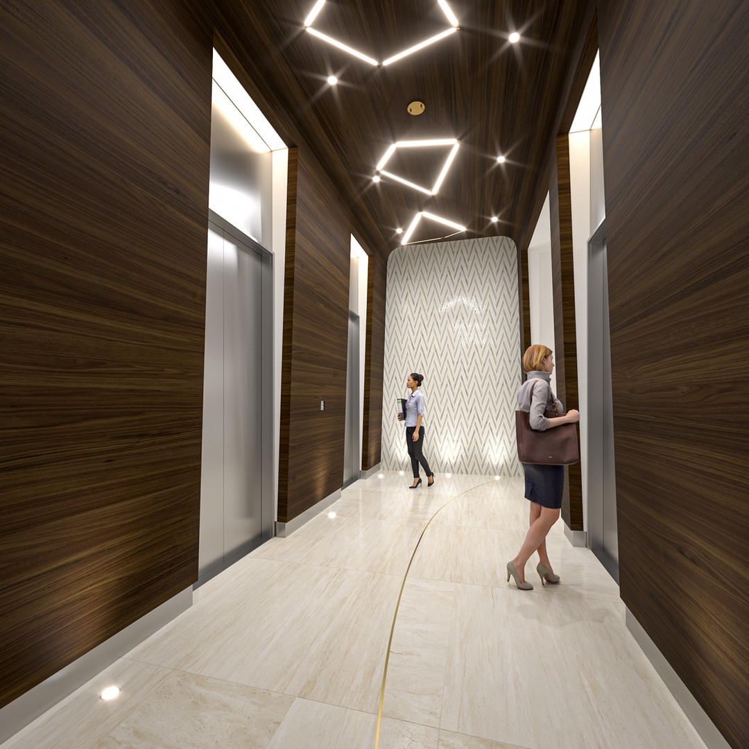 Bernard Block - Elevator Lobby