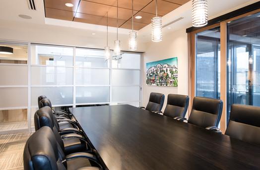 Law office boardroom