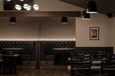 Freddys comedy room design