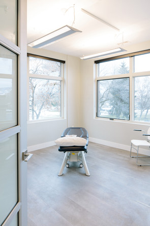 Prime Physiotherapy treatment room