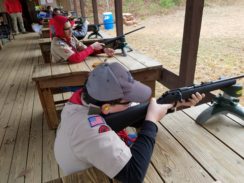 Rifle Merit Badge