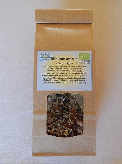 BIO Čajna mešanica »GLAVCA«