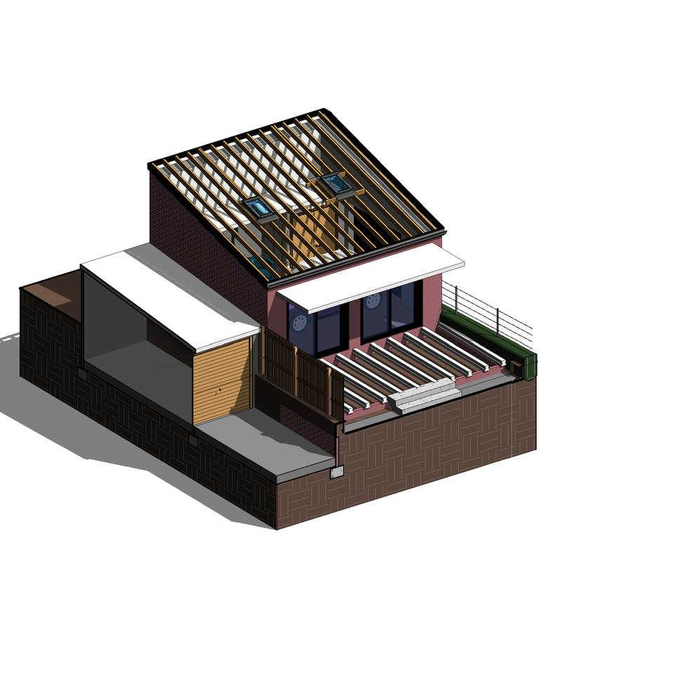 BAS1933 Option BR - 3D View - Structure