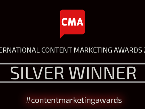 BABC Member Fifty Five and Five take home Silver at the International Content Marketing Association
