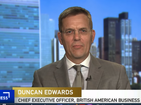 BABC/BAB CEO, Duncan Edwards speaks with China Global Television Network on Trump's UK visit and