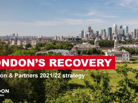 BABC Member London & Partners Release Their New Strategy for 2021/22
