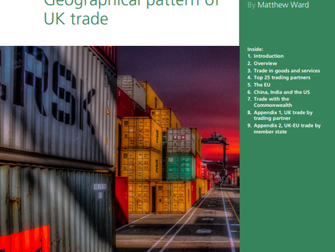UK Government Publishes Data Showing UK Trade with Individual Countries Since 1999