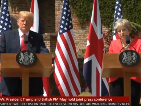 President Trump Visits the UK