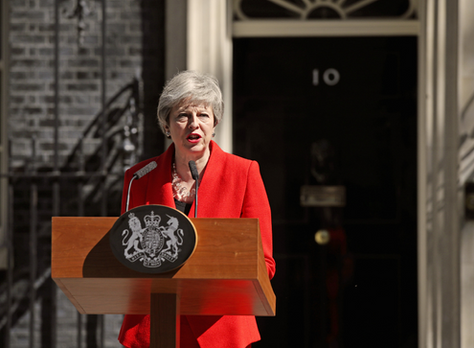 Prime Minister's statement in Downing Street: 24 May 2019