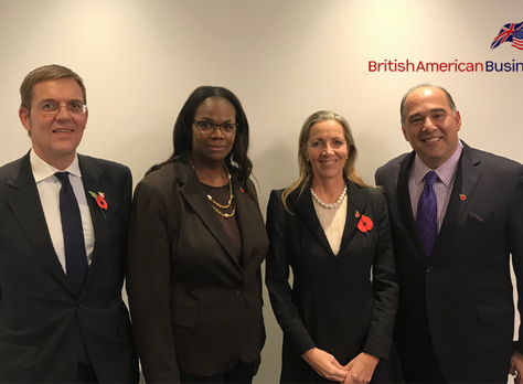 BritishAmerican Business' Annual General Meeting 2018 Welcomes New Chair, Dame Vivian Hunt, DBE