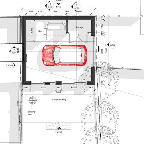 BAS1933 Option BR - Floor Plan - Level 0