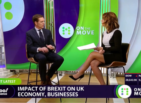 Duncan Edwards, CEO of BAB - BABC sister chapter - Joins Yahoo Finance to Discuss Brexit