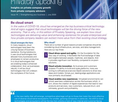 'Be Cloud Smart': BABC member KPMG shares insights on how cloud technology unlocks competiti