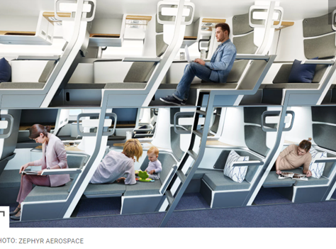 This Double-decker Airplane Seat Could One Day Allow Everyone to Have Lie-flat Seats — Even in Econo